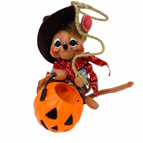 """Annalee Other - Annalee Cowboy Mouse Halloween Collectible 6"""" 2004"""